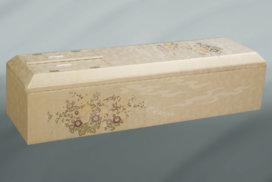 金色の装飾の高級棺