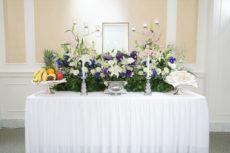 このプランに含まれている生花祭壇