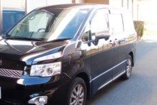 ワンボックスカータイプの霊柩車