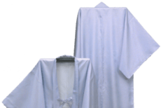 故人に着せる白い着物